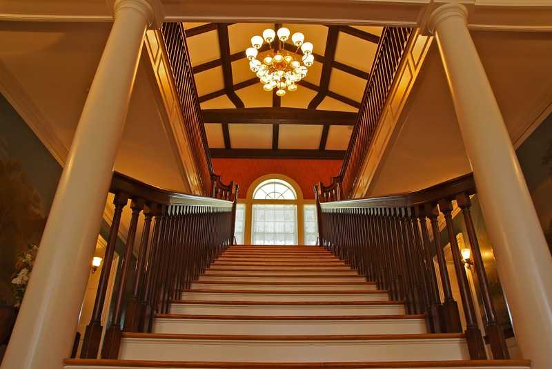 The Mansion itself consists of 19 rooms including seven bedrooms and six bathrooms.