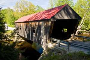 Dalton Bridge in Warner, N.H.Constructed in 1853. The bridge is also known as the Joppa Road Bridge, and is one of the oldest covered bridges still in use.