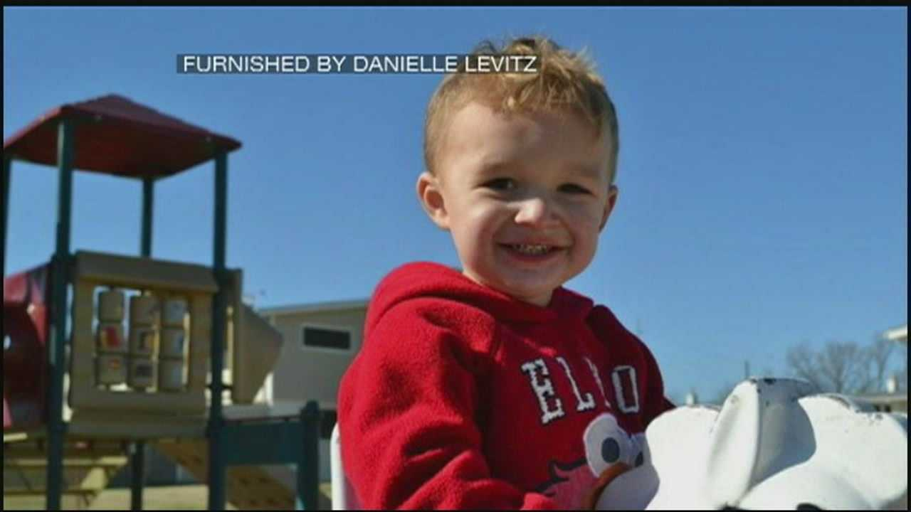 Boy recovering from injuries after crash