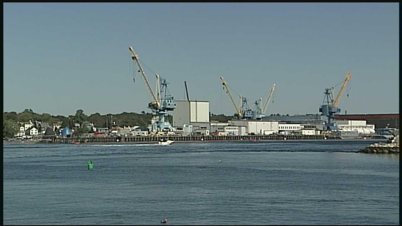 Shipyard hit by government shutdown
