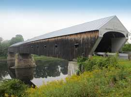 Longest covered bridge - Built in 1866, the Cornish-Windsor Bridge, a double-span, 460-foot covered bridge connecting Cornish, New Hampshire and Windsor, Vermont is the longest covered bridge in the United States.