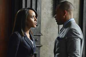 """With Olivia's name out there as the President's mistress, both the White House and Pope & Associates face their biggest scandal to date, and a surprise allegiance is formed in order to get things handled. Meanwhile, Olivia's father, Rowan, will stop at nothing to carry out his orders and no one, including Olivia, can stand in his way, on the Season 3 Premiere of """"Scandal""""."""