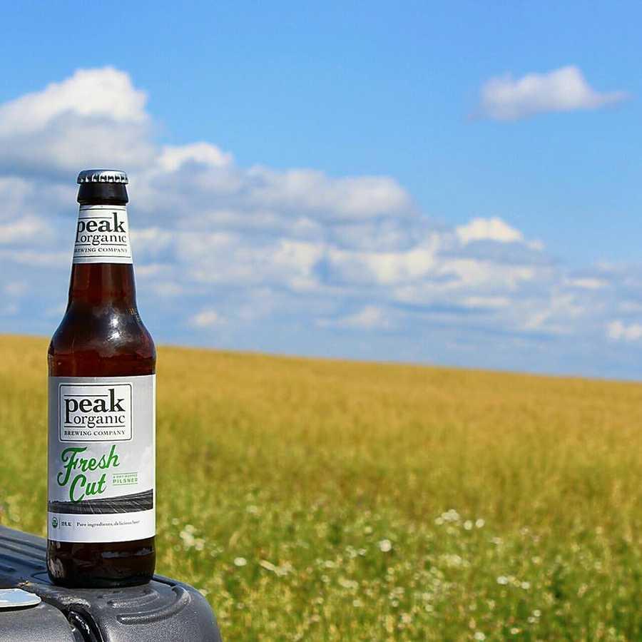 Tie-14) Peaks Organic Brewing Company in Portland, Maine.