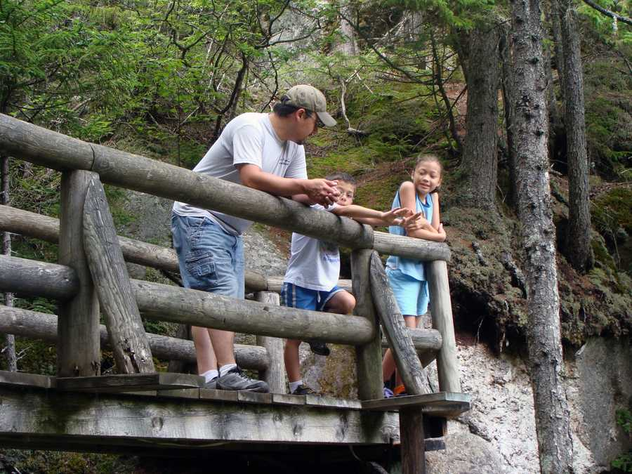 The Lost River Mining Sluice offers a mining package for children and adults of all ages to search for sharks' teeth, gemstones, rubies or fossils.
