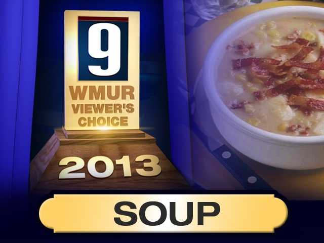 Looking to warm up with a cup of hot soup? Here are the your choices for the best places to get soup in New Hampshire...