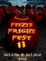 Tie-9) Fritzy's Fright Fest in Newton, N.H.
