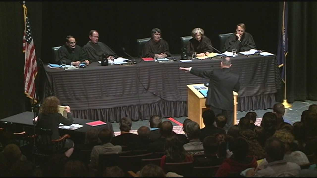 State Supreme Court considers arguments in texting case