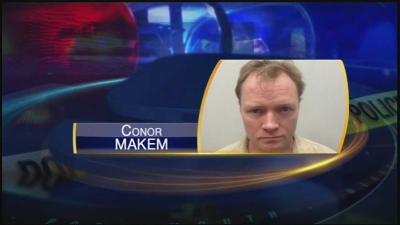 Former Rochester Times reporter Conor Makem was arrested Thursday and charged with invasion of privacy.