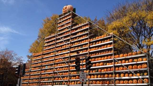 The Keene Pumpkin Festival was held Saturday.