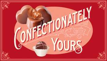 Tie-17) Confectionately Yours Sweet Shop in Loudon
