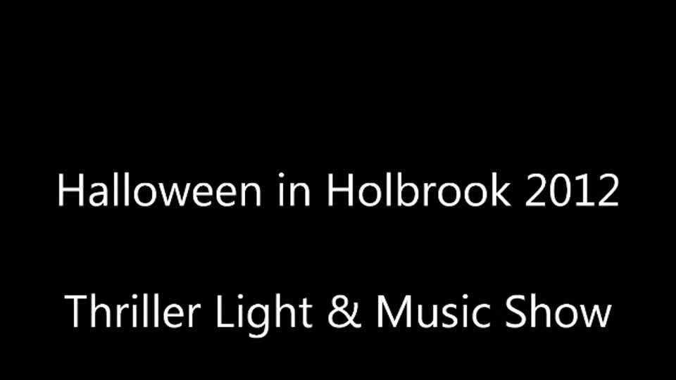 Halloween Light & Music Show