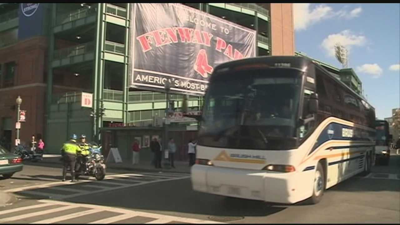 Red Sox leave for St. Louis