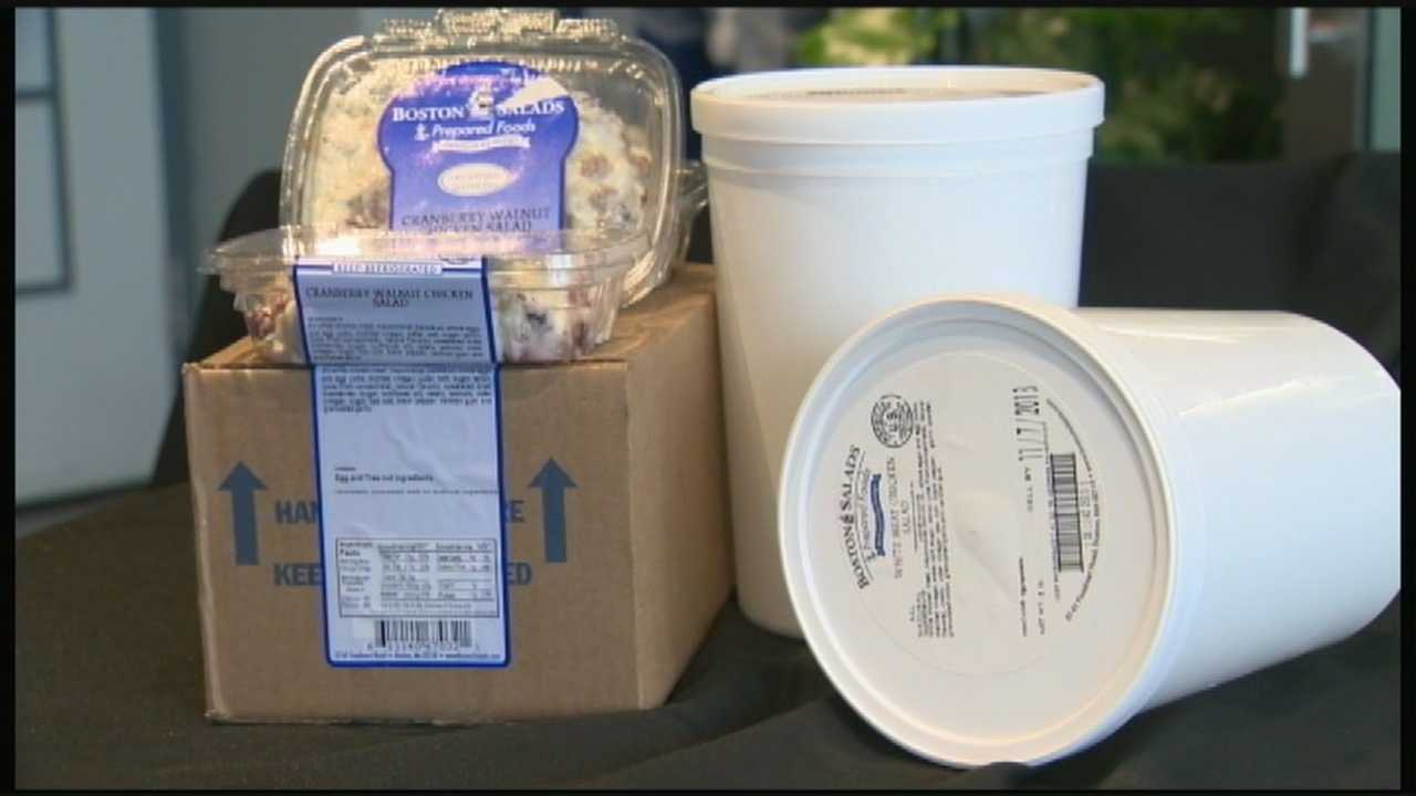 Chicken Salad Recall