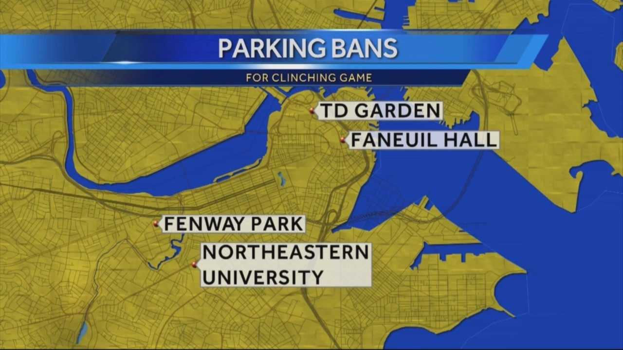 Parking will be restricted in Boston for the remaining World Series games