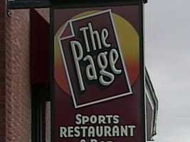 More than 4,000 items are being auctioned off Tuesday from The Page sports bar and restaurant in Portsmouth.