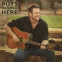 Jarrod Saltalamacchia listens to Boys 'Round Here by Blake Shelton ft. Pistol Annies and friends.