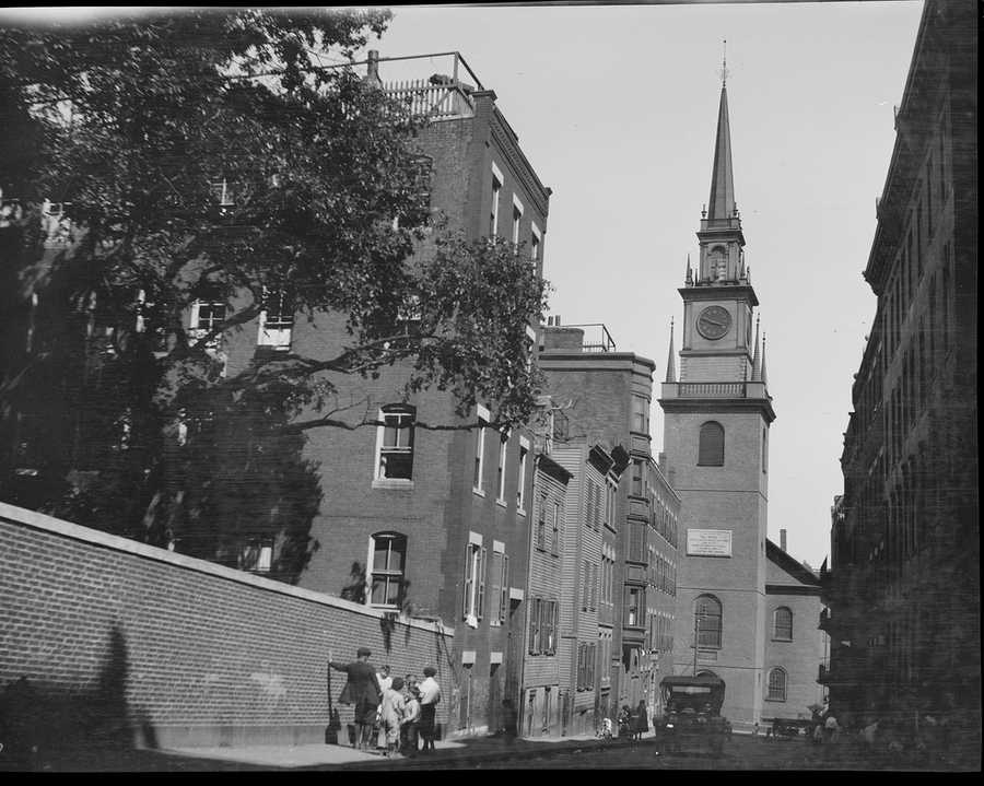 Old North Church in 1918