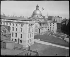 State House, Beacon Hill in 1918
