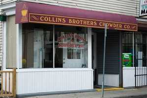 2) Collins Brothers Chowder Company in Nashua