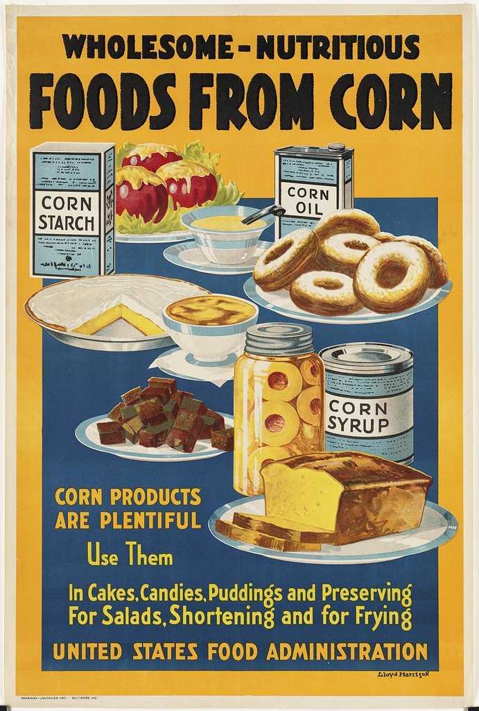 1918 food poster