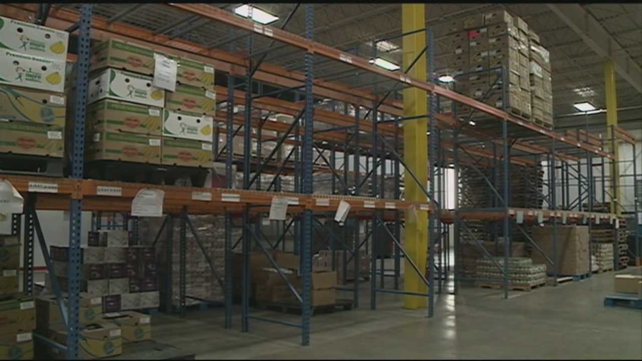 Food bank's needs grow as donations slip