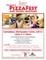 Nov. 17: Pizza Fest and silent auctionAt the Children's Museum of New Hampshire in Dover. Tickets are $10 for adults and $7 for children in advance, or $12 for adults and $8 for children at the door.