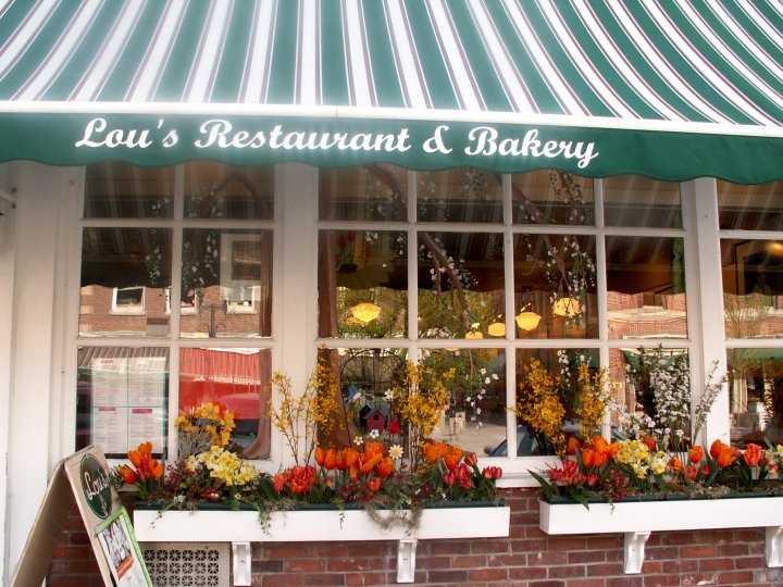 Tie-14) Lou's Restaurant & Bakery in Hanover.