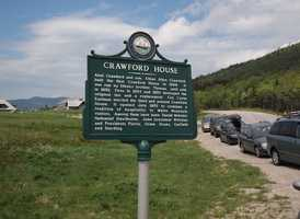 """The Crawford House, """"One of the most deservedly popular hotels in the White Mountains."""""""