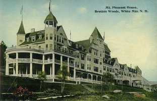"""Mt. Pleasant House ($4 ½ a day, $21 a week). """"Has recently been rebuilt on an enlarged and improved scale. Its golf-links are excellent."""""""