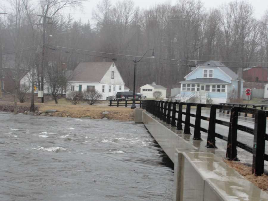 What's the most likely month for river flooding?