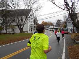 Mile 10: The beautiful homes of New Castle: A chance to revisit some of the Great Island 5K course.