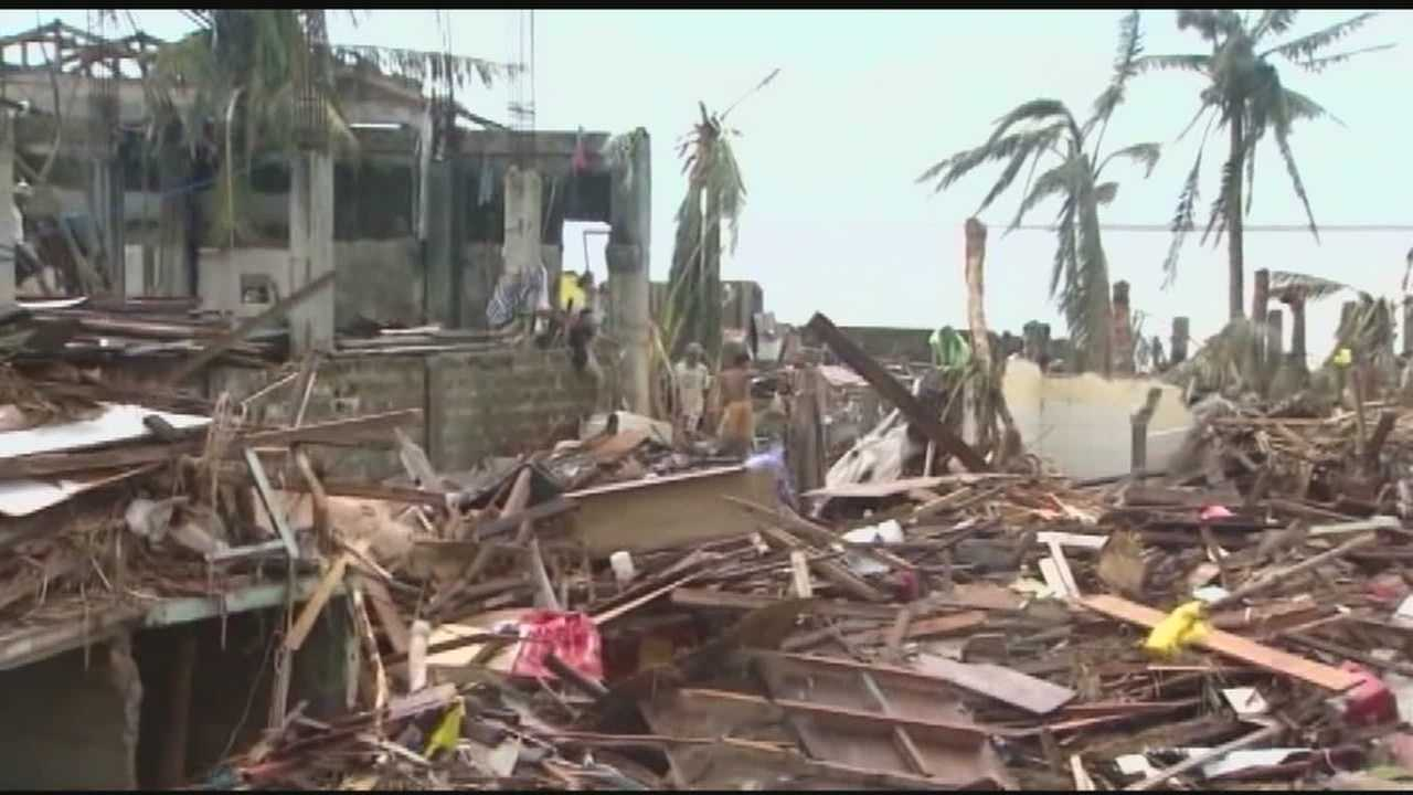 Several local groups are working out plans to help in the Philippines.