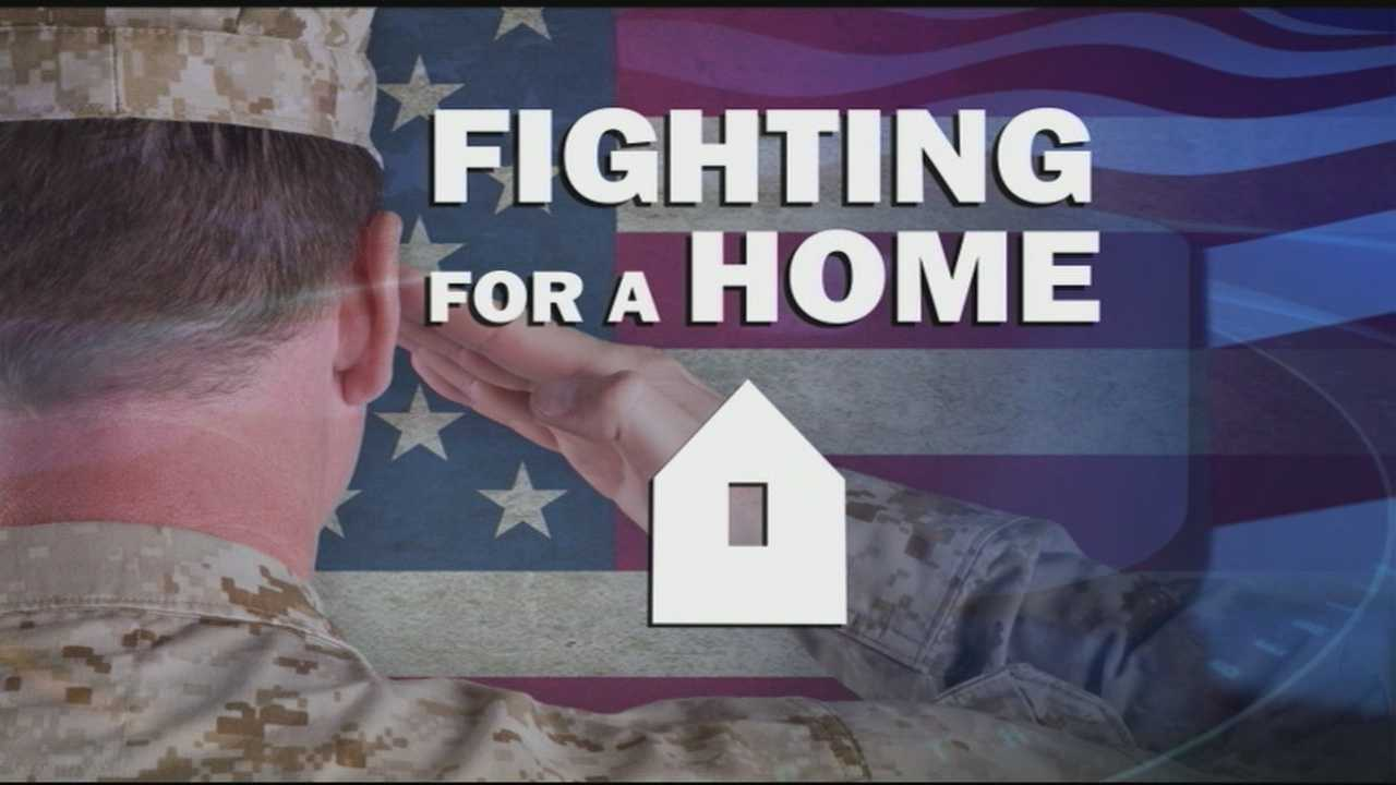 A controversial project in Lee, centered on providing homeless veterans with a place to stay.