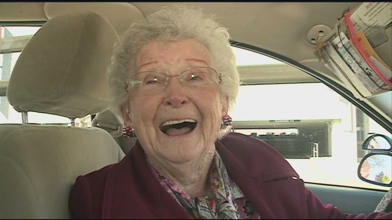 Cabbie Aunt Dottie driving strong at 89
