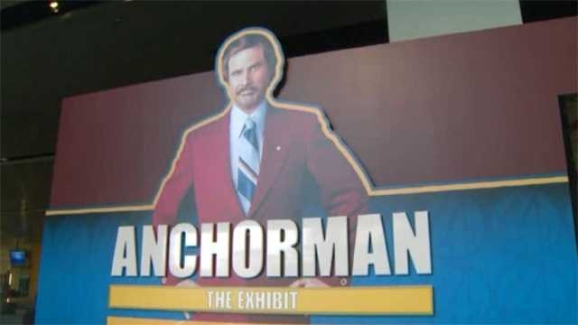 Anchorman the exhibit
