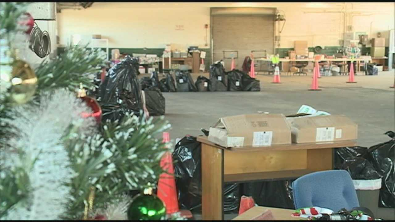 Operation Santa Claus, a program run by the State Employees Association of New Hampshire, helps deliver gifts and clothing to children in need.