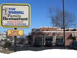 Tie-5) The Windmill Family Restaurant in Concord