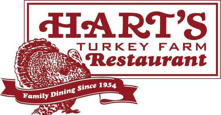 1) Hart's Turkey Farm Restaurant in Meredith.