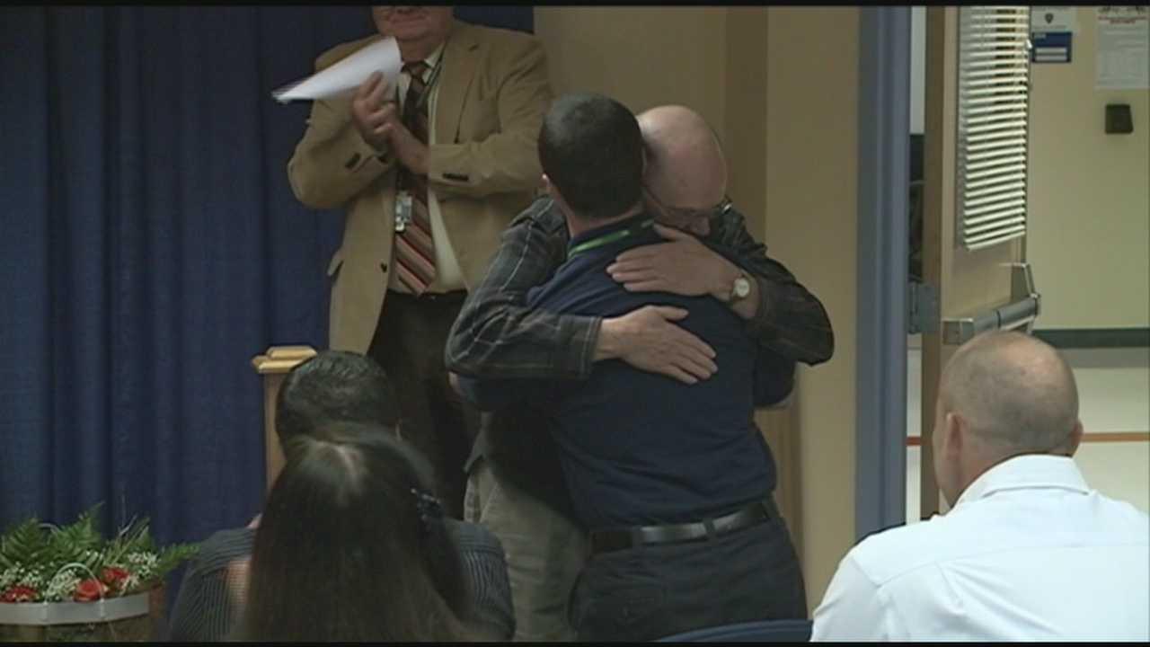 Man thanks rescuers, 911 dispatcher