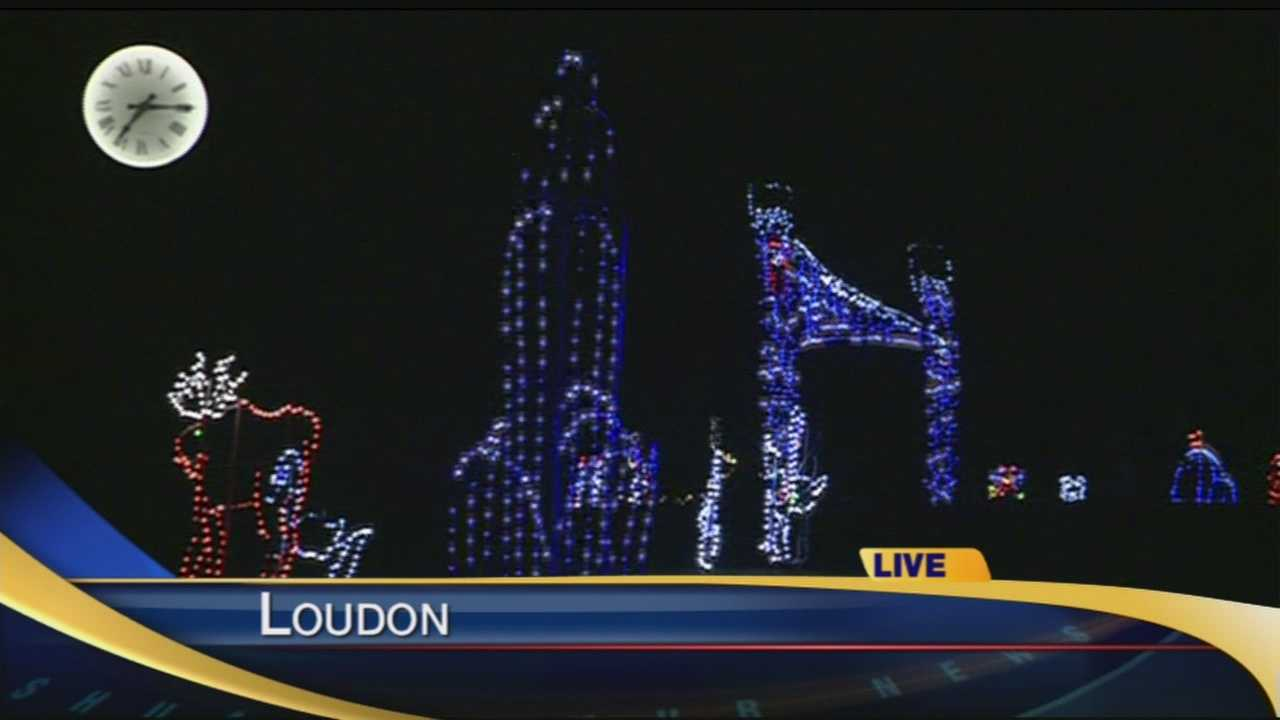 The Gift of Lights has been turned on at the New Hampshire Motor Speedway in Loudon.