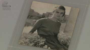 Photo of Owald's wife, Marina