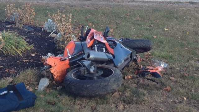 Rochester motorcycle crash