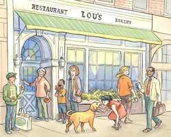 Tie-14.) Lou's Bakery in Hanover.