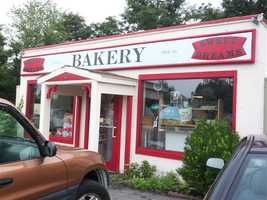 Tie-14.) Sweet Dreams Bakery in Stratham.