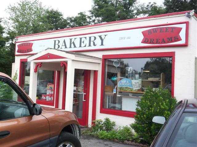Tie-14.) Sweet Dreams Bakery in Stratham.