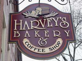 1.) Harvey's Bakery in Dover.