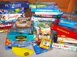 Choose from dozens of board games, and buy one get one free.