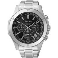 Several watches will be on sale for 40-55% off, including this Seiko men's stainless steel chronograph for $99.99.