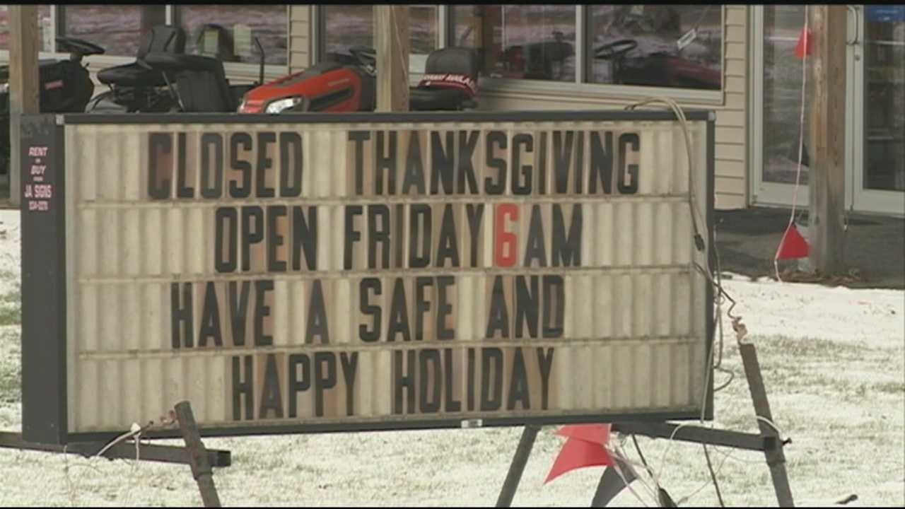 Plymouth store will stay closed on Thanksgiving