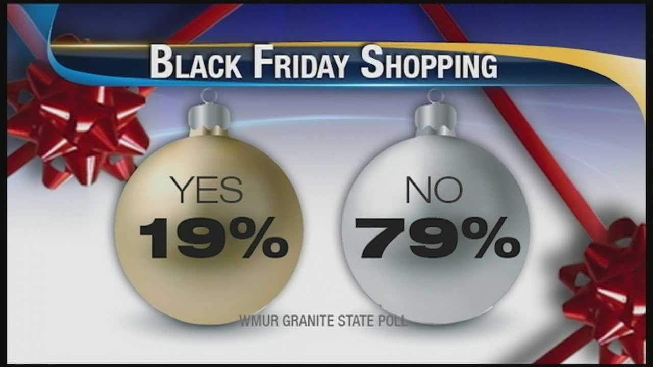 Granite State poll: holiday shopping